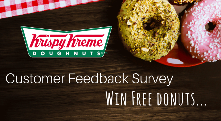 krispy kreme customer feedback survey