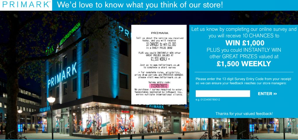 primark survey image