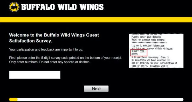 buffalo wings survey image