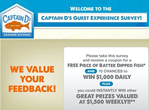 Captain Ds Survey