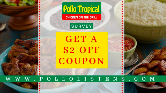 Pollo Tropical Survey prize